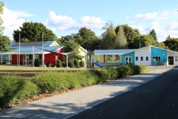 painted school